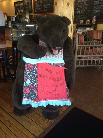 Mama Bear's: Our greeter