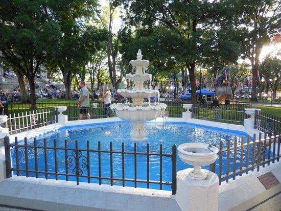 Downtown Historic Area: Pretty Fountain