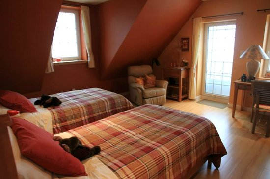 Red Roof Bed and Breakfast : Notre chambre