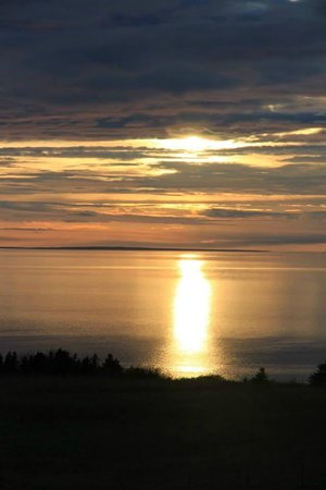 McArras Brook, Kanada: Vue sur la mer