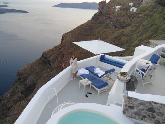 Iconic Santorini, a boutique cave hotel: Private Room