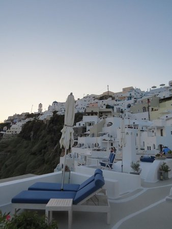 Iconic Santorini, a boutique cave hotel : Surrounding views from hotel