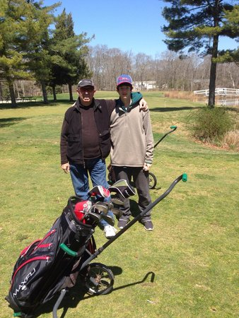 The Pines at Clermont Golf Club: Our spring '14 outing. At $15 off-season, the Pines are a steal!
