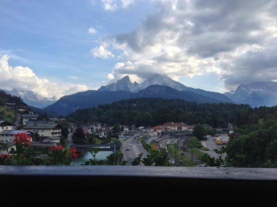 Hotel Bavaria: View from the balcony