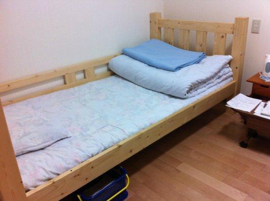Minshuku Torokko No Yado : Bed