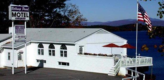 Belknap Point Motel: Front Entrance