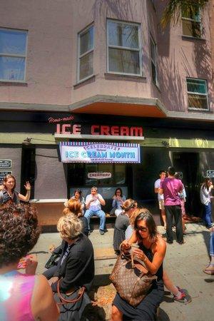 Avital Food Tours: Ice cream at The Creamery