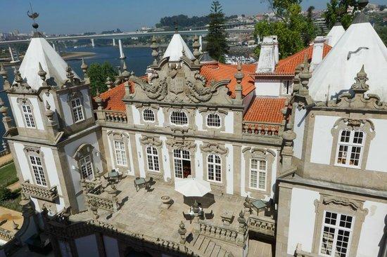Pestana Palacio do Freixo : Hotel Aussenansicht