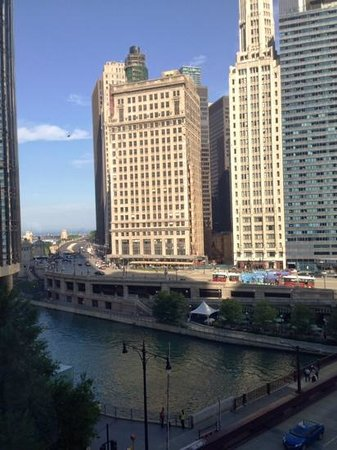 The Langham, Chicago: view from the lobby
