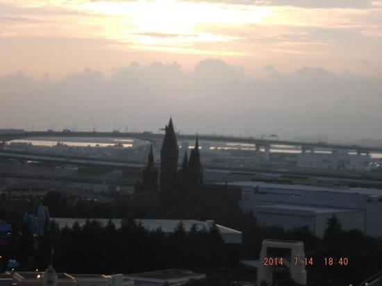 Hotel Universal Port: La vista desde mi ventana