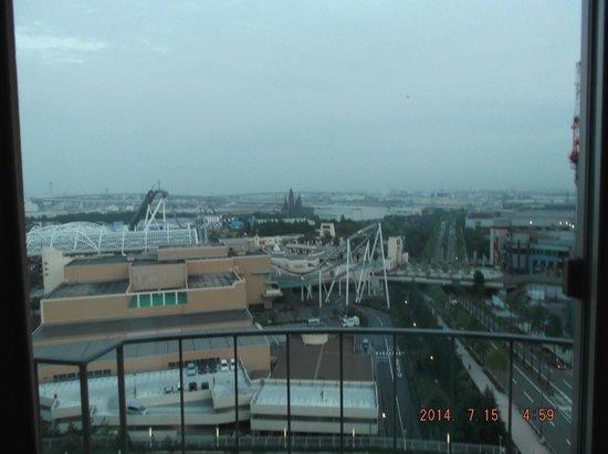 Hotel Universal Port: La vista desde nuestra habitación