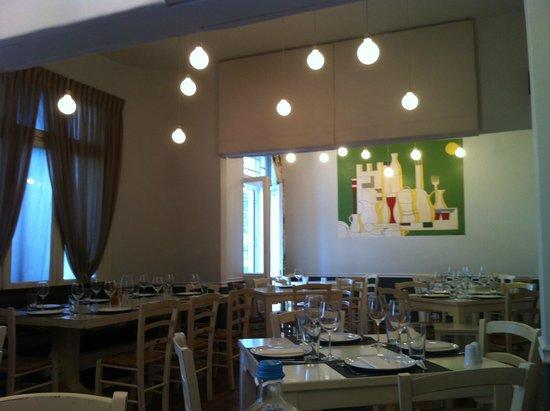 Mani Mani: Inside the restaurant