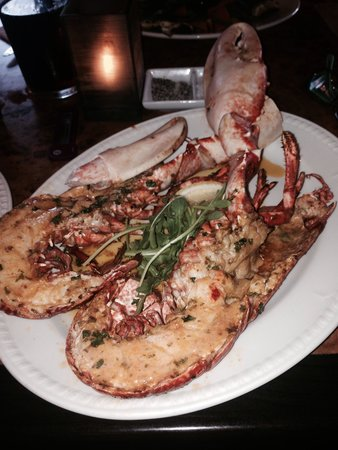 Vaughan's: And someone moaned lobsters were small ? A whole lobster at £28 was a bargain !