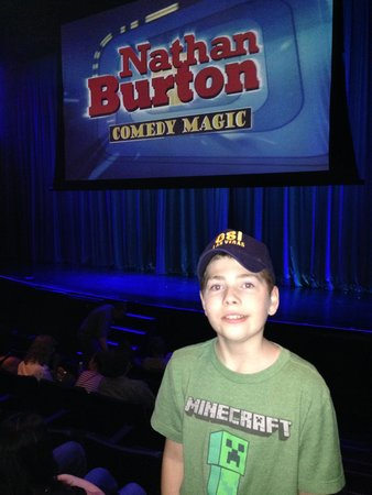 Nathan Burton Comedy Magic: Great time for whole family!