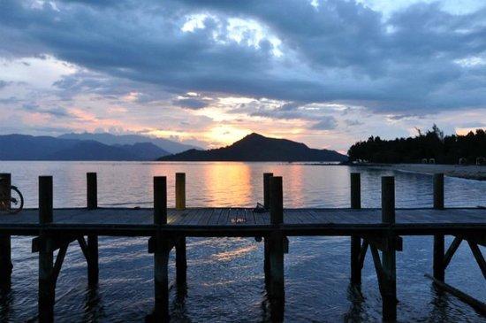 L'Alyana Ninh Van Bay: sunset