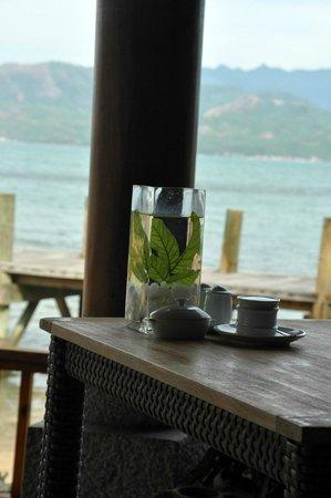 An Lam Ninh Van Bay Villas : restaurant