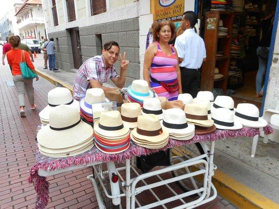Casco Viejo: Great hats, great vendor