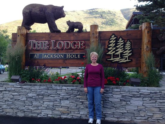 The Lodge at Jackson Hole : Photo op