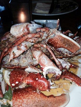 Vaughan's: Smashed lobster !!