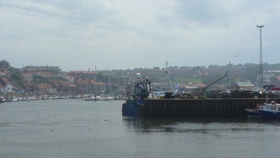 Whitby Harbour: across the harbour