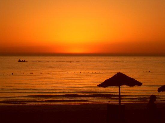SENTIDO Djerba Beach : levé de soleil