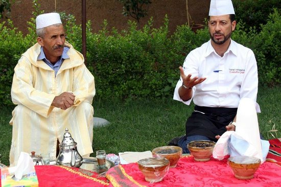 Th workshop picture of atelier de cuisine chef tarik for Atelier cuisine marrakech