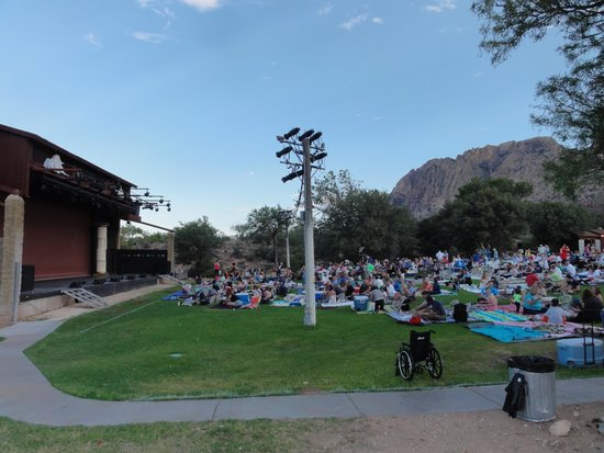 Super Summer Theatre: View of the Outdoor Stage and Sitting Area
