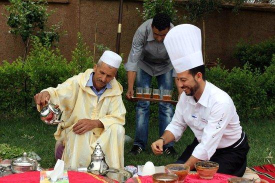 Visite de potager picture of atelier de cuisine chef for Atelier cuisine marrakech