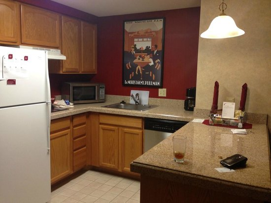 Residence Inn Minneapolis Downtown/City Center : kitchenette in studio room