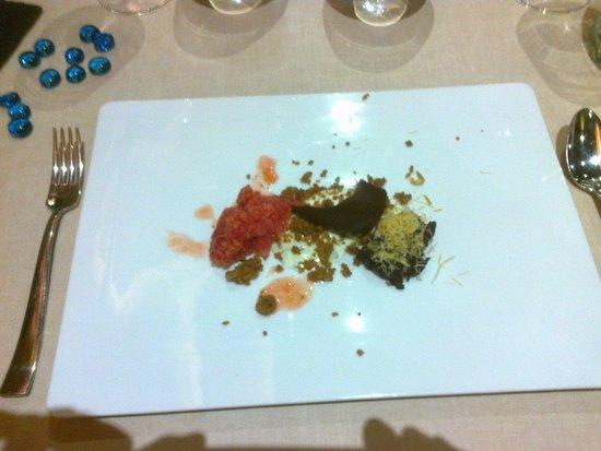 Married Cocina: Mezcla de chocolates y granizado.