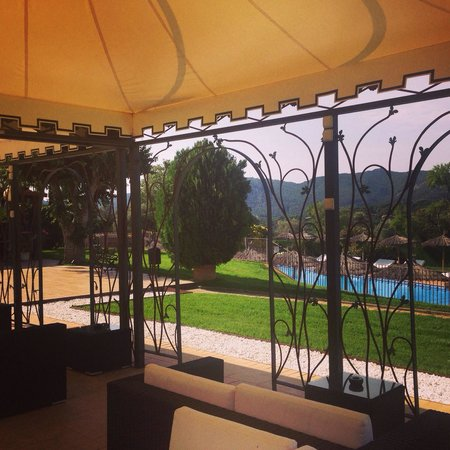 Salles Hotel Mas Tapiolas: Area de descanso