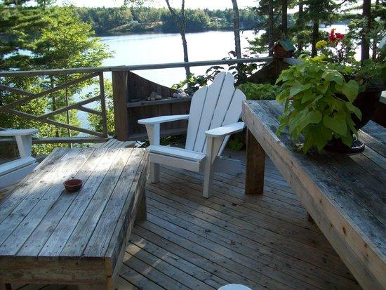 Carleton, Canada: deck