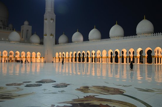 Mosquée Cheikh Zayed : The peaceful open space