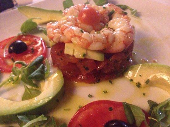 Salles Hotel Mas Tapiolas: Tartar de tomate