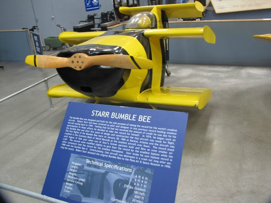 Pima Air & Space Museum: Indoor exhibit