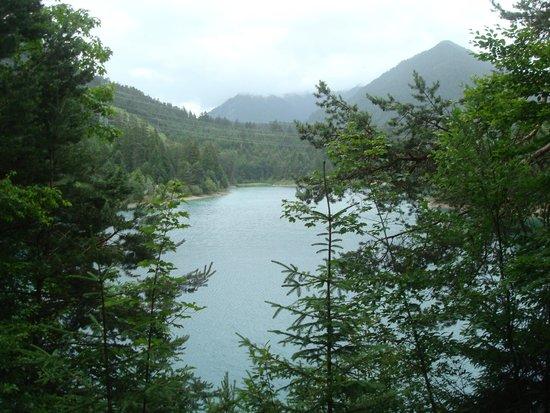 Gutshof zum Schluxen : Small lake in nearby Reutte