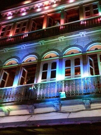 Rio Scenarium: iluminação externa