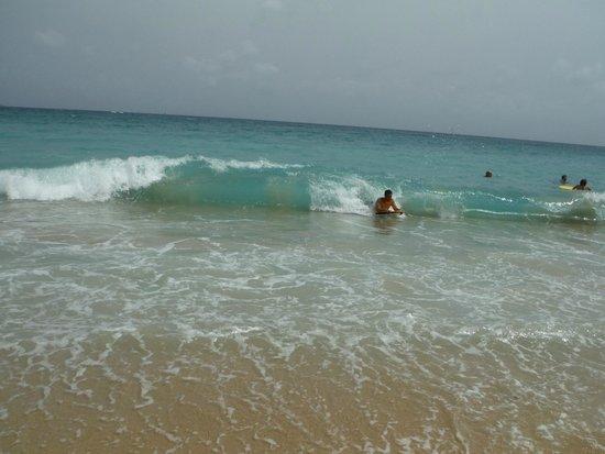 Morningstar Beach: Lots of waves