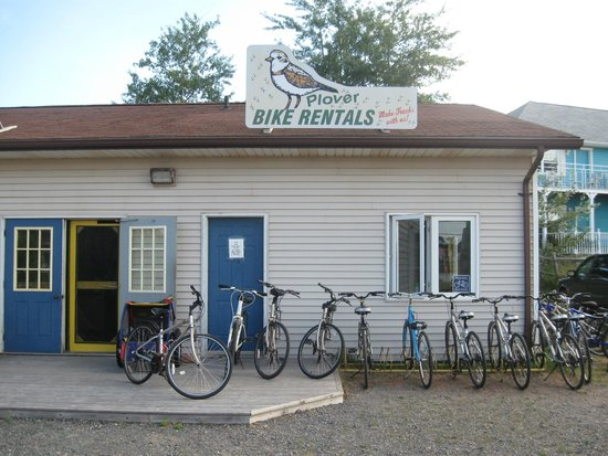 Confederation Trail Cycling : Our Home in St Peters Bay
