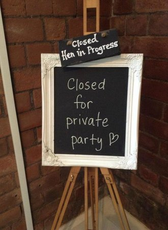 The Deck: Private party!