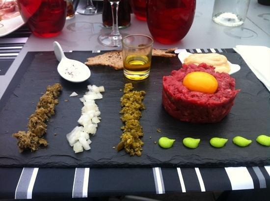 Le DZ Restaurant: tartare