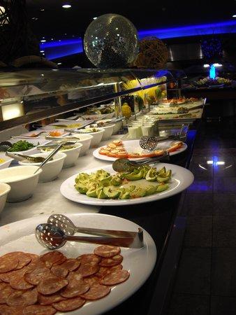 Aqua Hotel Onabrava & Spa : goed en schoon restaurant