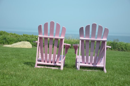 Cliffside Resort Condominiums: Adirondack Chairs for relaxing!