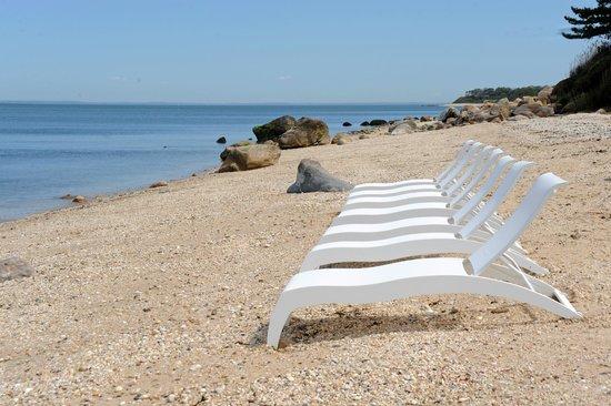 Cliffside Resort Condominiums: Sleek and Modern Lounge Chairs