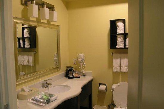 La Quinta Inn & Suites Inglewood: King room bath