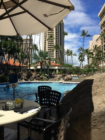 Hilton Hawaiian Village Waikiki Beach Resort: One of the pools @ HHV