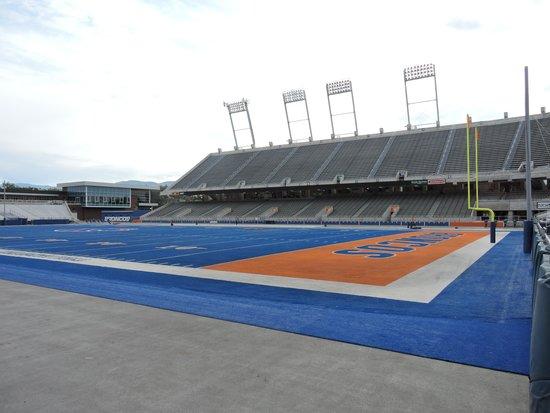 Bronco Stadium: Smurf Turf