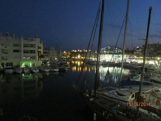 Toro Puerto Marina: View of the Marina at night