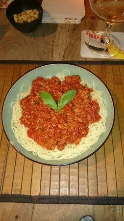 De Stoepa : Spaghetti boloñesa
