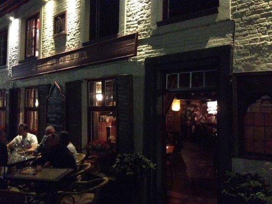 De Stoepa : Fachada restaurante